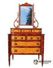 American Federal Chest of Drawers w/ Mirror Winterthur Museum Reproduction