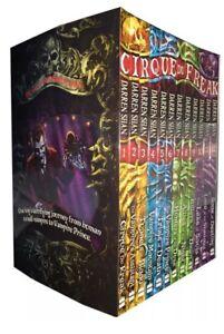 The Saga Of Darren Shan 12 Books Collection Set Cirque Du Freak Box Set