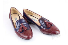Prada Wingtips Leather Shoes Size 39.5 EU