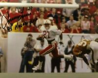NEBRASKA FOOTBALL IRVING FRYAR #27 AUTOGRAPHED PHOTO - 1993 HUSKER HALL OF FAME