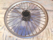 "1996 96 HONDA CR125 21"" FRONT WHEEL 1.60 X 21 CR 125"