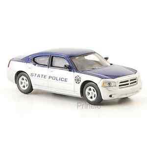 Ricko 38568 1/87 Ho Dodge Charger State Polizia / Polizia Stato USA H0