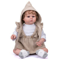 50CM Archie Realistic Handmade 20in Reborn Baby Doll Soft Body Hand Rooted Hair