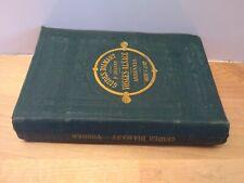 Guide Joanne Guide Diamant Vosges-Alsace Hachette 1876 avec 7 plans