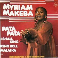 Myriam Makeba Enregistrement Public Au Theatre des Champs-Elysees CD1989 LIVE