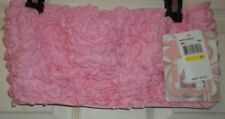 Fashion Forms Ruffle Bandeau Bra Size M in Pink