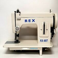 Walking Foot Mini Sewing Machine All Cast Metal Machine Rex-607 Portable Home