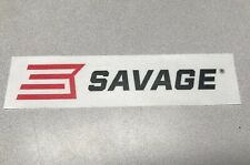 SAVAGE ARMS Authentic HUGE STICKER  Firearms Hunting Gun