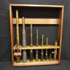 Antique Brass Telescope Collection Tt&H, Spencer Browning Rust, Steward Mp299