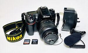 Nikon D7200 Digital SLR DX AF-S Nikkor 18-55mm f/3.5-5.6G VR Shutter Count 7153