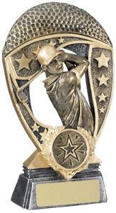 GOLF WINNER AWARD 5.5in inc free postage + engraving