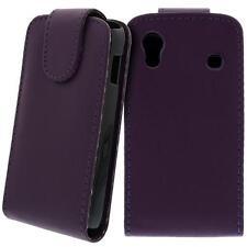 para Samsung Galaxy Ace gt-s5830 Móvil Funda con tapa Púrpura