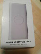 Original Samsung Galaxy eb-u1200 inductiva Power Bank Wireless conjuntos de baterías 10000mah