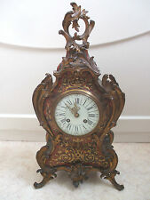 Metal French Antique Clocks with Keys, Winders