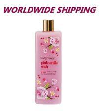 Bodycology Pink Vanilla Wish Body Wash & Bubble Bath 16 Fl Oz WORLDWIDE SHIPPING