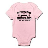 CafePress Future Mechanic Infant Bodysuit Baby Bodysuit (1591180630)