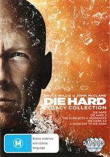 Die Hard: Legacy Collection (Die Hard / Die Hard 2 / Die  . - DVD - NEW Region 4