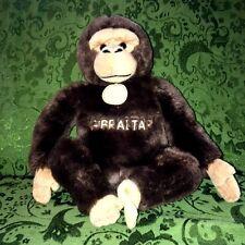 GIBRALTAR Monkey Chimpanzee Plush SUMA Collection Ravensden UK Soft Toy HTF!
