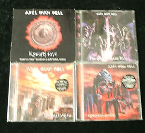 Axel Rudi Pell - 4 x CD aus Sammlungsauflösung 2!!!