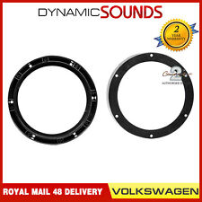 """CT25VW04 20cm 200mm 8"""" Front Door Car Speaker Adaptors For VW Golf MK5 (2003-08)"""