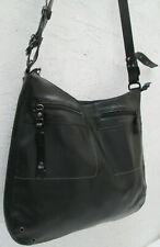 78ed61c6fd -AUTHENTIQUE grand sac bandoulière LAMARTHE cuir TBEG vintage bag