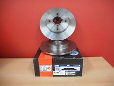 REAR BRAKE DISCS PAIR w/o BEARING CITROEN C4 PEUGEOT 307 25mm STUB AXLE DIAMETER