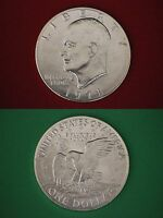 1971-S 40% Silver Uncirculated Eisenhower Dollar Ike Flat Rate Shipping