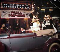 Disneyland Main Street Cinema 1978 Mickey Mouse 50th Birthday Walt Disney Cast