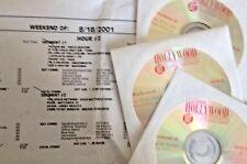 RADIO SHOW:LEEZA GIBBONS 8/18/01 EURYTHMICS, SUGAR RAY, U2, TRAIN, LENNY KRAVITZ