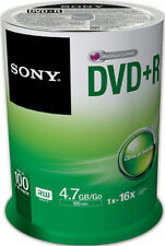 Dd505 Sony DVD R 4.7gb 100DPR47SP Dvd-rohling