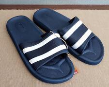 BNWT Mens Rivers Size 10 Navy Stripe Slides Flip Flops Sandal Beach Casual Shoes