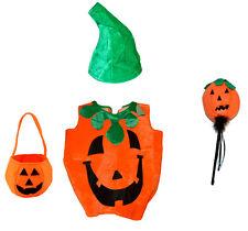 Costume Pumpkin Childrens Fancy Dress Halloween Carnival Party Celebration