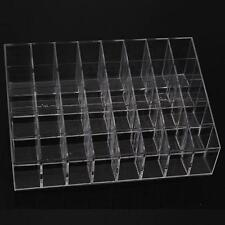 New 40Grids Trapezoid Cosmetic Makeup Display Lipstick Holder Stand Case Plastic