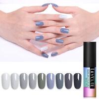 LILYCUTE 5ml Soak Off Gel Polish Pure Tips Nail Art UV Gel Colorful