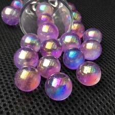 Rainbow aura sphere titanium seed quartz crystal ball healing 5pcs