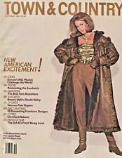 TOWN & COUNTRY MAGAZINE ~~ October 1981 ~~ 10/81 ~~ H-1-3