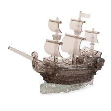 Crystal 3D Puzzle Black Pirate Ship 101 Piece Jigsaw Brainteaser Puzzle