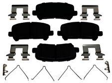 Disc Brake Pad Set-Ceramic Disc Brake Pad Rear ACDelco Pro Brakes 17D1281CH