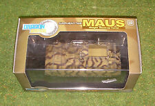 DRAGON 1/72 WW II GERMAN MAUS Super-Heavy Tank Mock-Up Turret Camouflage 60157