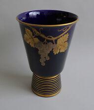Sainte Radegonde. Gustave Asch. Vase en faïence à décor de grappes de raisin