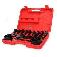 23 pcs Wheel Bearing Press kit Removal Adapter Puller Pulley Tool W/Case Front