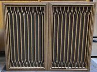 Kenwood KL-555D Vintage 3 Way 5 Speaker Pair Tested Working Good Condition Used