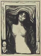 Edvard Munch Prints: Madonna - Fine Art Print