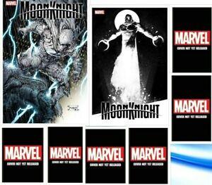 Moon Knight #1 All 8 cover set NM 2021 Marvel Comics Pre-sale 07/21/21 FREE SHIP