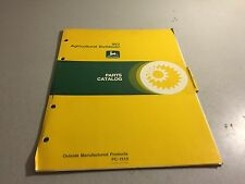 John Deere 863 Agricultural Bulldozer Parts Catalog Pc-1510l