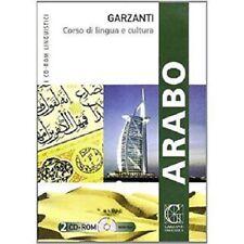 Arabo. Corso di lingua e cultura - Garzanti - Con 2 CD