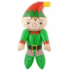 Inflatable Santa Helper onze Figure Character Christmas Decoration Kids Toy
