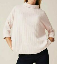 PHASE EIGHT JERSEY RIB POLO / ROLL NECK TOP *NEW* IN STORE PRICE £55 - 3 COLOURS