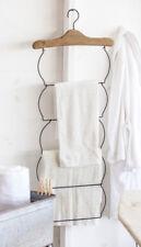 Towel Rack Vintage Clothes Hanger Linens Holder Farmhouse Decor