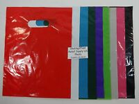 "9"" x 12"" Low Density Glossy Merchandise Retail Bags Variety of Colors & Qty."